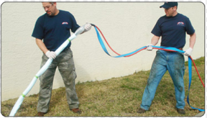 Pull in place pipe lining method