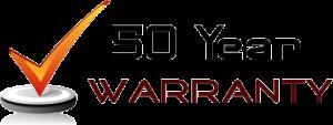 50 year warranty